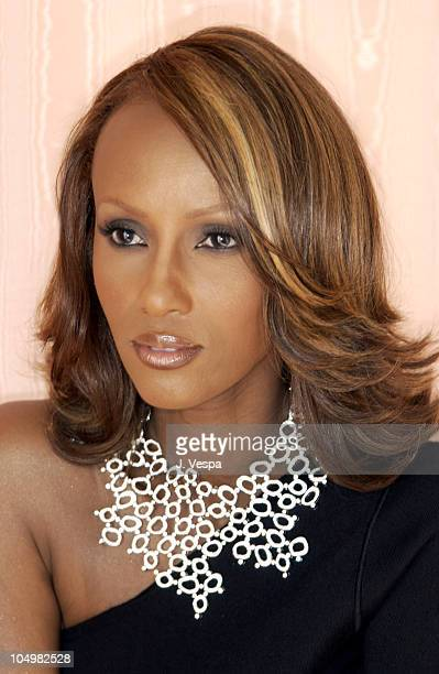 De Beers announces a partnership with Iman acclaimed supermodel and businesswoman at the Cannes Film Festival Iman's collar necklace is made of 100...