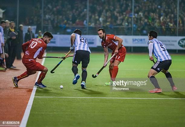 De Belgische hockeyploeg Red Lions speelden vanavond een galawedstrijd tegen Argentinië Een replay van de olympische finale in Rio 2016 De wedstrijd...