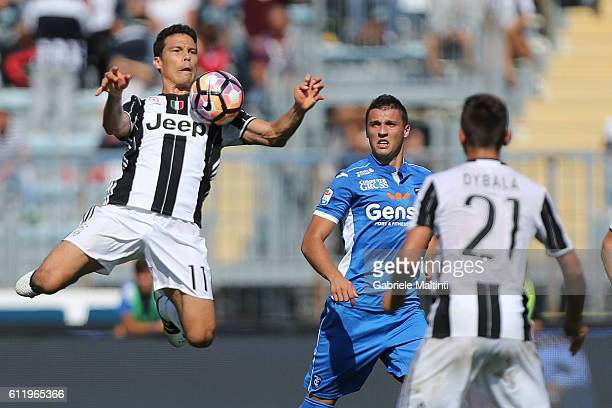 De Carvalho Hernanes of Juventus FC in action during the Serie A match between Empoli FC and Juventus FC at Stadio Carlo Castellani on October 2 2016...