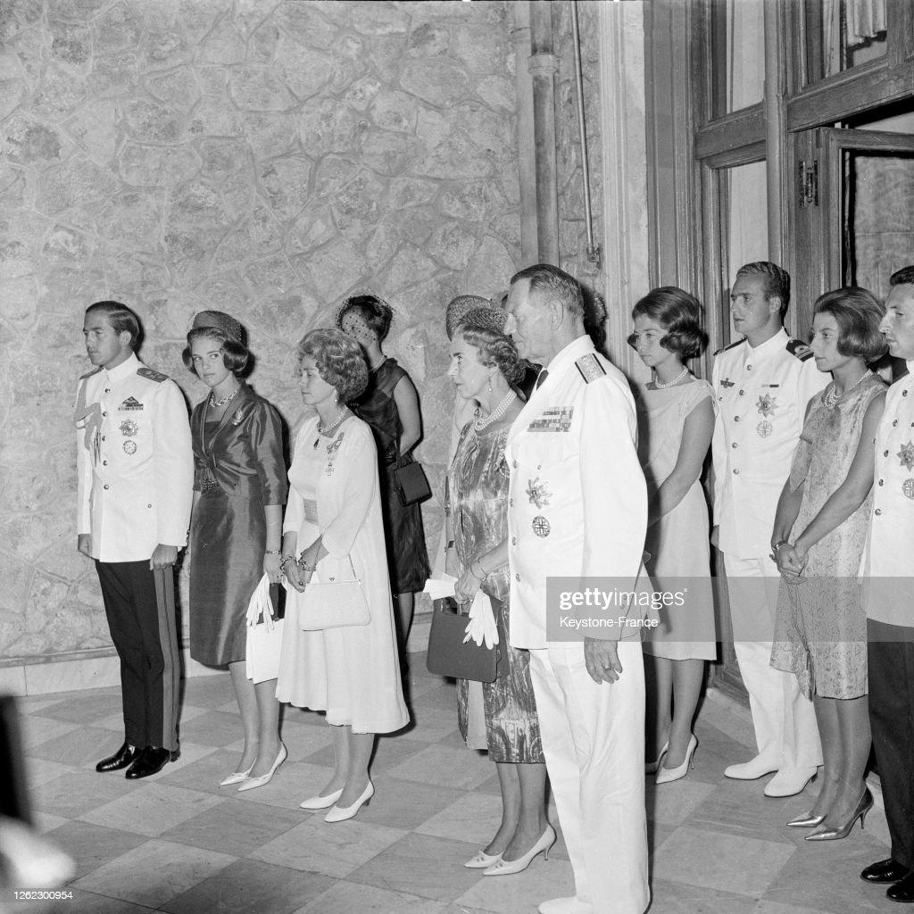 Réception royale à Athènes : Photo d'actualité