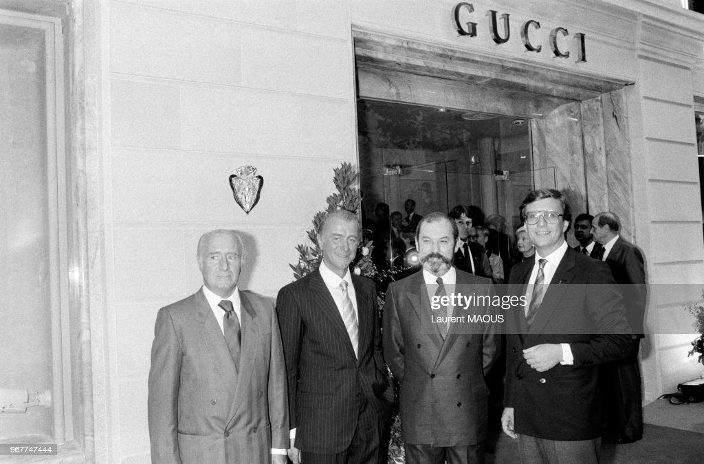 La famille Gucci à Paris : News Photo