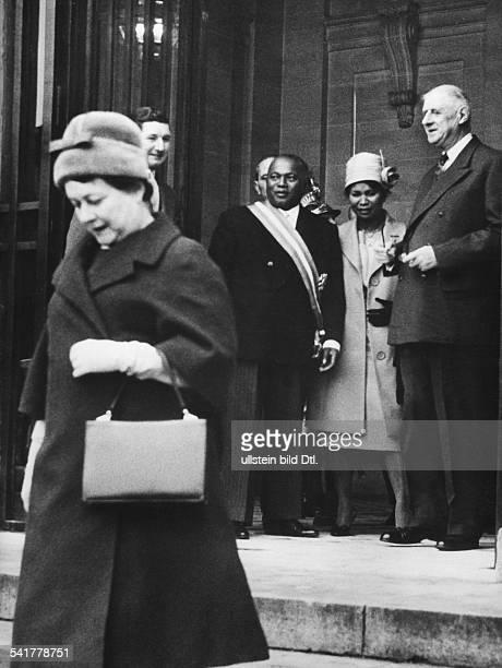 De Gaulle, Charles *22.11.1890-+Politiker, General, FrankreichStaatspraesident von 1959-1969- der Staatspraesident der vor kurzemunabhaengig...