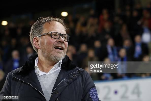 De Graafschap Coach Henk De Jong During The Dutch