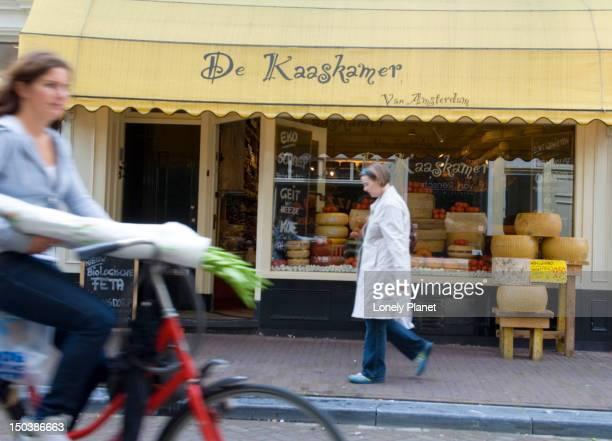 De Kaaskamer cheese shop in the Nine Straatjes area.