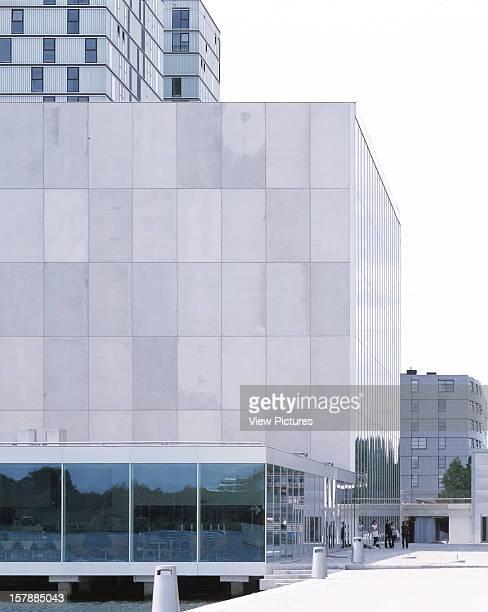De Kunstlinie, Almere, Netherlands, Architect Sanaa Kazuyo Sejima + Ryue Nishizawa De Kunstlinie Exterior View.