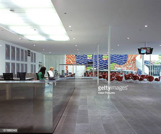 De Kunstlinie, Almere, Netherlands, Architect Sanaa Kazuyo Sejima + Ryue Nishizawa De Kunstlinie Interior View - Main Entrance Area.