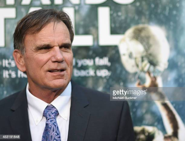 De La Salle Coach Bob Ladouceur arrives at the premire of Tri Star Pictures' When The Game Stands Tall at the ArcLight Cinemas on August 4 2014 in...