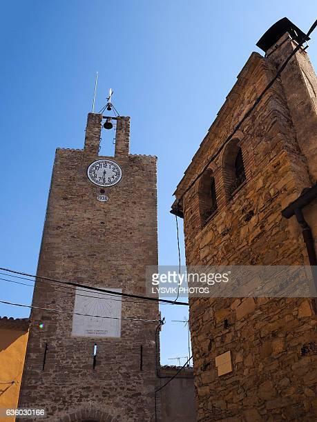 De las Horas tower in Palau-Sator, Gerona