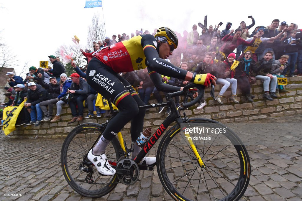 De Muur van Geraardsbergen / during the 102nd Tour of Flanders 2018 - Ronde Van Vlaanderen a 264,7km race from Antwerpen to Oudenaarde on April 1, 2018 in Oudenaarde, Belgium.