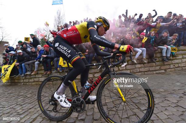 De Muur van Geraardsbergen / during the 102nd Tour of Flanders 2018 - Ronde Van Vlaanderen a 264,7km race from Antwerpen to Oudenaarde on April 1,...