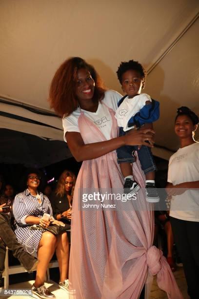 De Noel Attends Harlem's Fashion Row at La Marina Restaurant Bar Beach Lounge on September 6 2017 in New York City