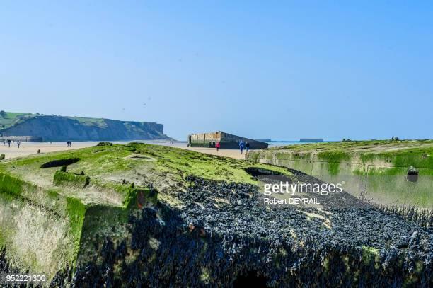 De nombreux touristes américains viennent se recueillir devant les mémoriaux rappelant les lieux de débarquements des alliés sur les plages de...