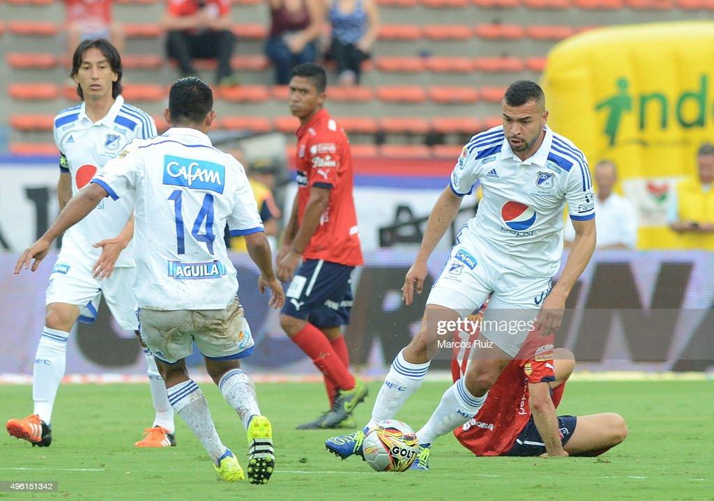 Independiente Medellin v Millonarios - Liga Aguila II 2015