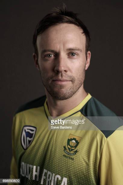 AB de Villiers Captain of South Africa poses for a portrait ahead of the Twenty20 International between England and South Africa at Ageas Bowl on...