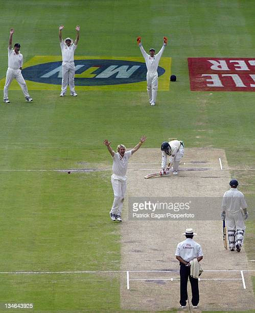 AB de Villiers lbw Hoggard South Africa v England 4th Test Johannesburg Jan 05