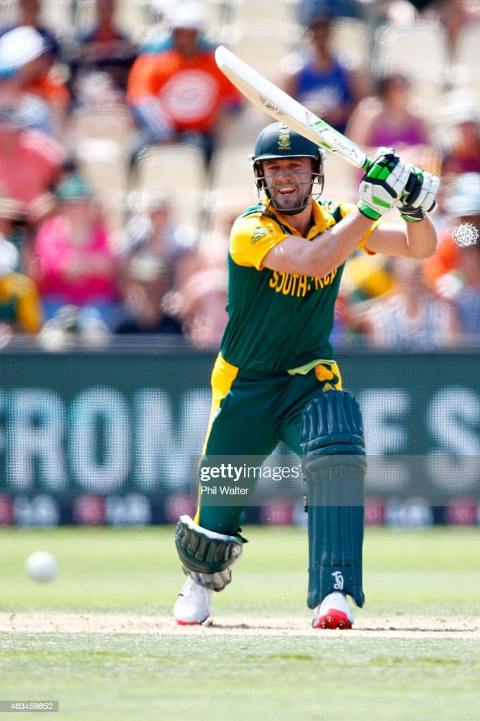 South Africa v Zimbabwe - 2015 ICC Cricket World Cup : News Photo