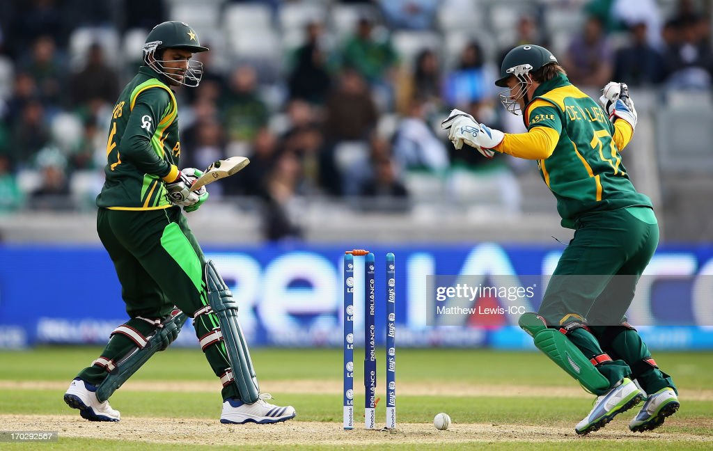 Pakistan v South Africa: Group B - ICC Champions Trophy : News Photo