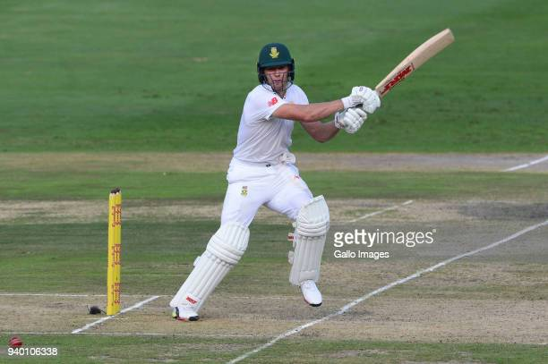 AB de Villiers of the Proteas during day 1 of the 4th Sunfoil Test match between South Africa and Australia at Bidvest Wanderers Stadium on March 30...