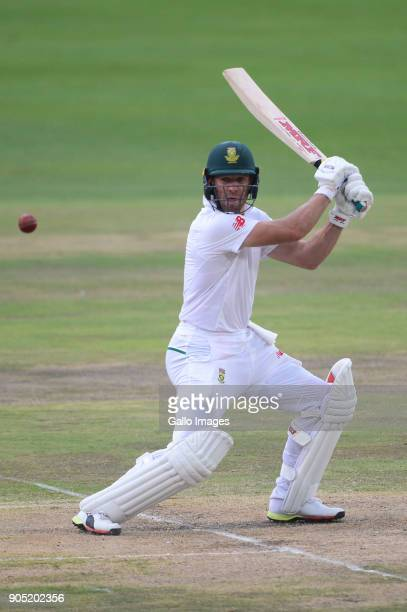 AB de Villiers of the Proteas during day 3 of the 2nd Sunfoil Test match between South Africa and India at SuperSport Park on January 15 2018 in...
