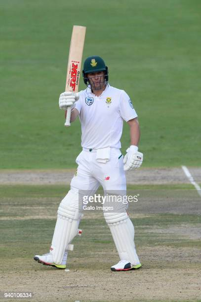 AB de Villiers of the Proteas goes to 50 runs during day 1 of the 4th Sunfoil Test match between South Africa and Australia at Bidvest Wanderers...