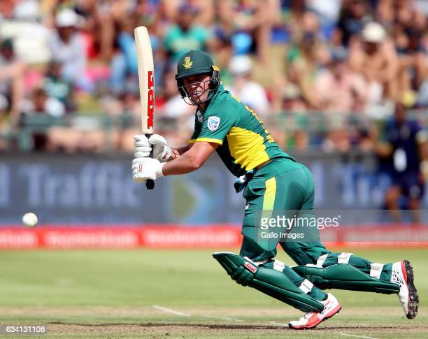 AB de Villiers of the Proteas in action during the 4th ODI between South Africa and Sri Lanka at PPC Newlands on February 07 2017 in Cape Town South...