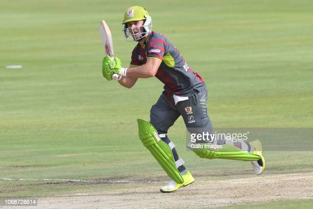 AB de Villiers of the Tshwane Spartans during the Mzansi Super League match between Tshwane Spartans and Paarl Rocks at SuperSport Park on December...