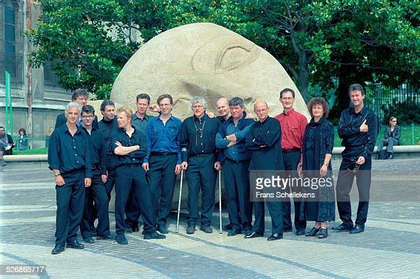 De Volharding poses at St Eustache on June 6th 1999 in Paris, France.