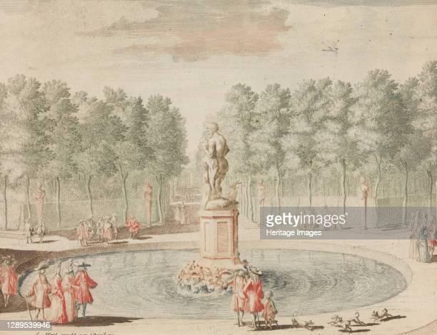 De Zes-weg by Phaunus na 't Beeld van Ceres te zien', in: Tooneel Der Voornaamste Nederlands Huizen, En Lust Hoven, Naar T Leven Afgebeeld,.n.d....