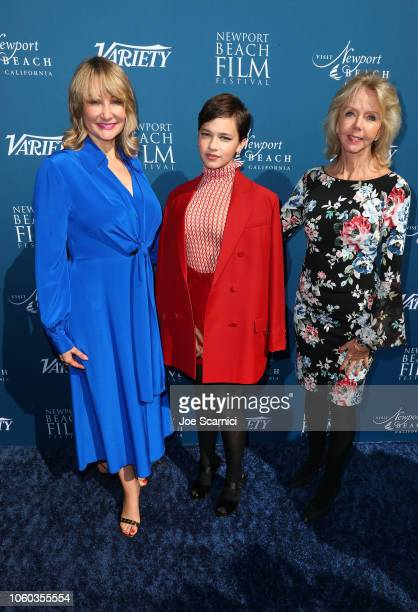 Dea Lawrence Chief Marketing Officer Variety Cailee Spaeny and Dawn Allen attend the Newport Beach Film Festival Fall Honors and Variety's 10 Actors...