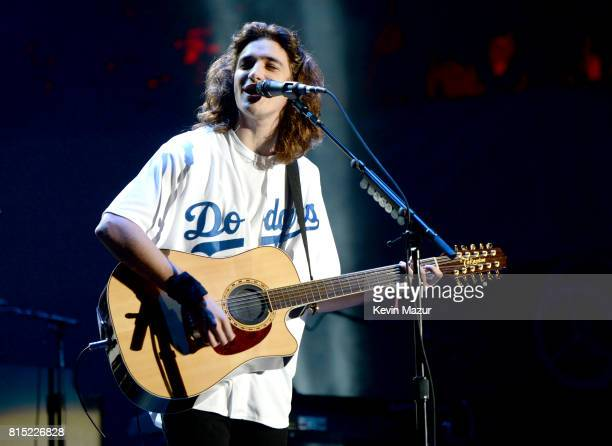 Deacon Frey of The Eagles performs onstage during The Classic West at Dodger Stadium on July 15 2017 in Los Angeles California