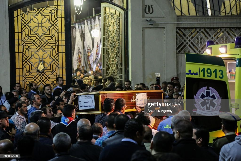 Church bombings in Egypt : News Photo