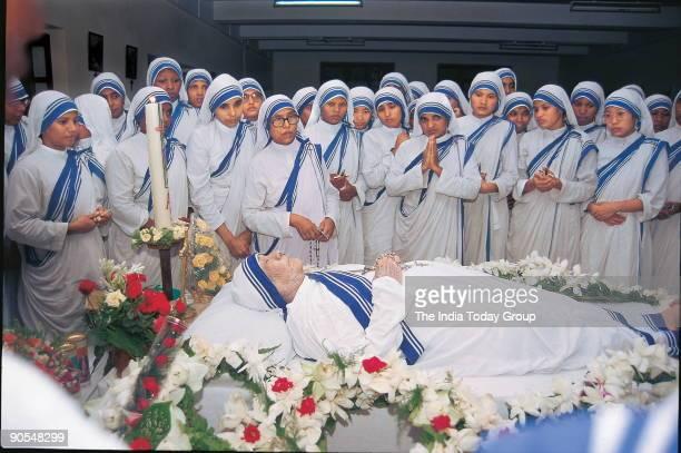 Dead Body of Mother Teresa