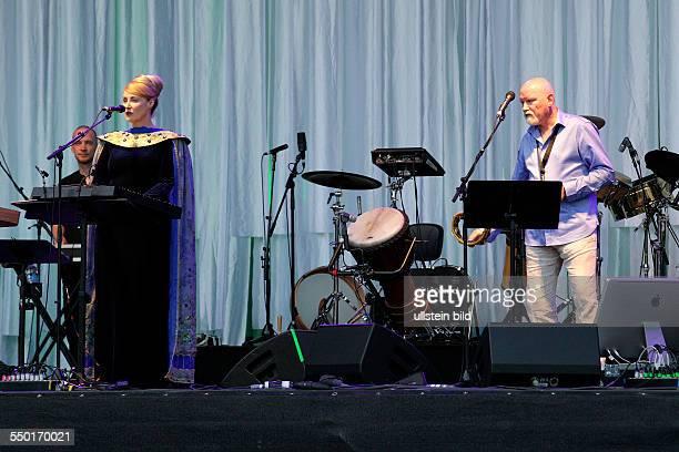 Dead Can Dance, Worldmusic, Australia, Citadel Music Festival 2013, performing on June 17 at Zitadelle, Spandau, Berlin, Germany