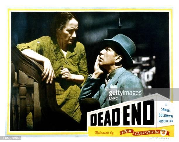 Dead End lobbycard from left Marjorie Main Humphrey Bogart 1937