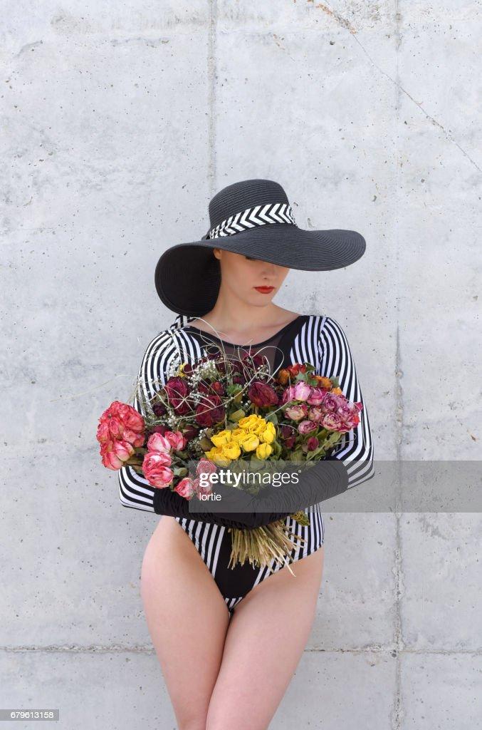 Dead Flower Bouquet Stock Photo   Getty Images