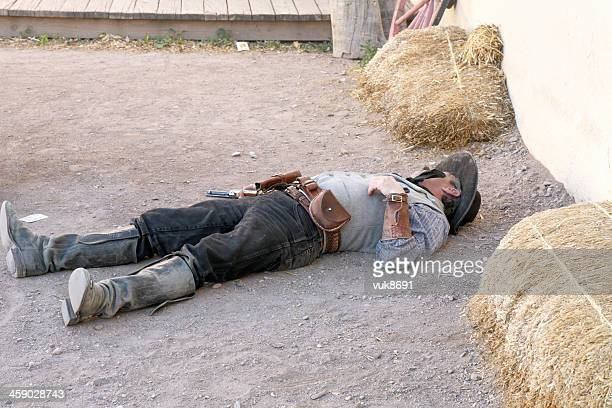 dead gunslinger - tombstone arizona stock pictures, royalty-free photos & images