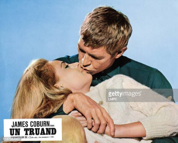 Dead Heat On A Merrygoround lobbycard from left Camilla Sparv James Coburn 1966
