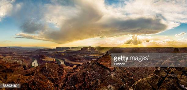dead horse point - dead horse point state park stock pictures, royalty-free photos & images
