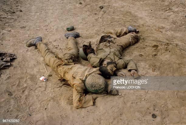Dead Iranian Soldiers During The Iran Iraq War, 1984.