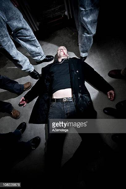 dead man - more dead cops stock pictures, royalty-free photos & images