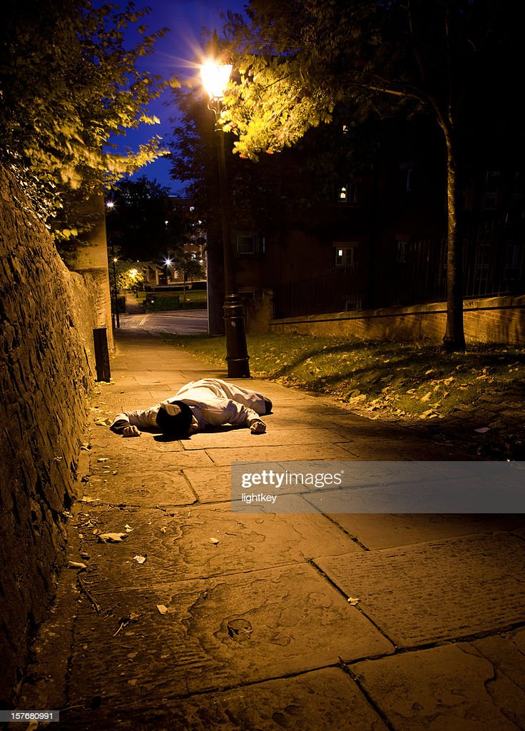 Dead Man : Stock Photo
