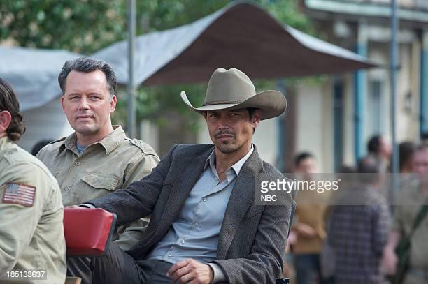 REVOLUTION Dead Man Walking Episode 206 Pictured Steven Culp as Edward Truman Anthony Ruivivar as General Carver