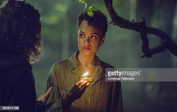 THE PATH Dead Moon Episode 202 Pictured Kyle Allen as Hawk Lane Britne Oldford as Noa