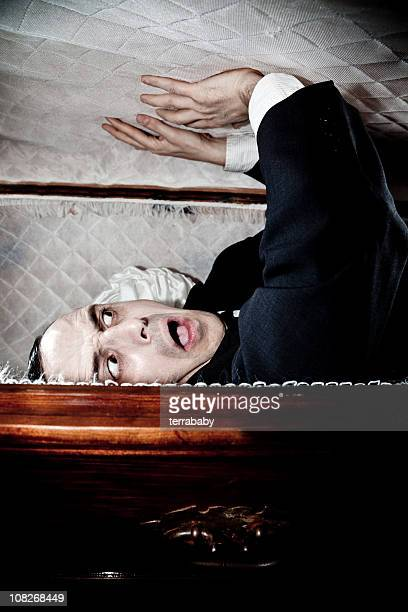 dead or alive - open casket stock pictures, royalty-free photos & images