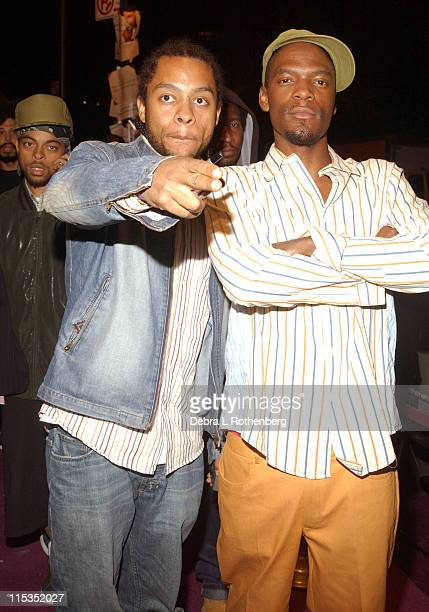 """Dead Prez during Prince's Release Party for his New CD """"Musicology"""" at Webster Hall in New York City, New York, United States."""
