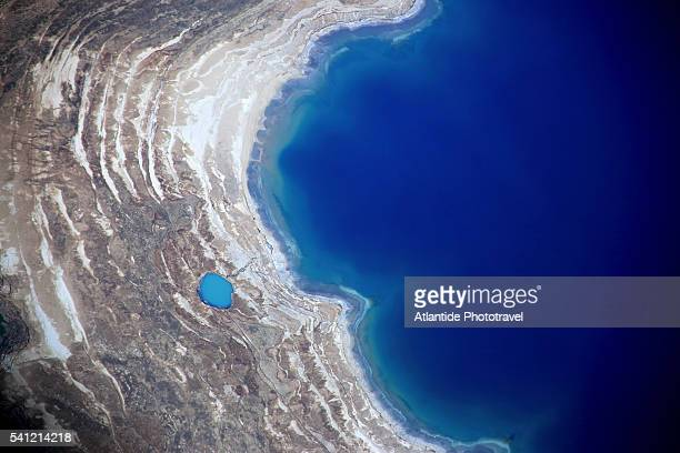 Dead Sea from above.