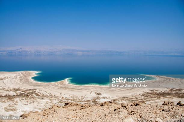dead sea, israel - jordan stock pictures, royalty-free photos & images