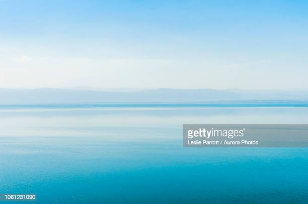 dead sea, madaba governorate, jordan - 死海 ストックフォトと画像