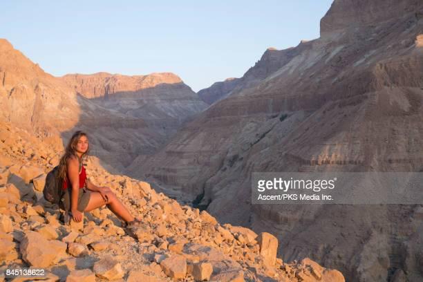 Dead Sea Mountains in Ein Gedi, Israel