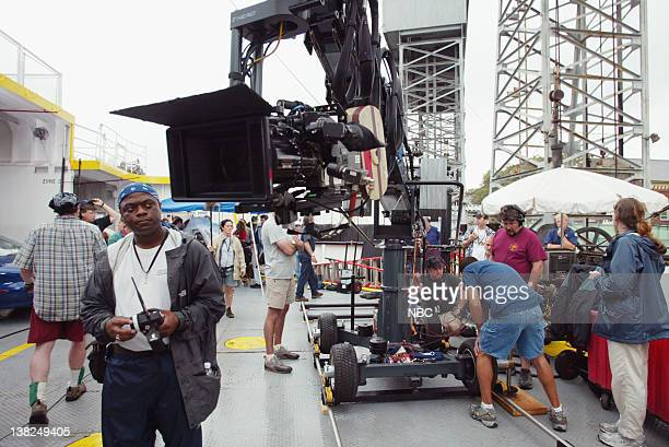 LAW ORDER 'Dead Wives Club' Episode 2 Air Date Pictured First Assistant Camera Operator Jerome Williams